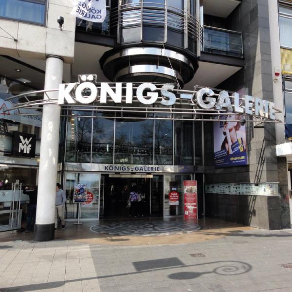 Neuer Standort Königs-Galerie Kassel